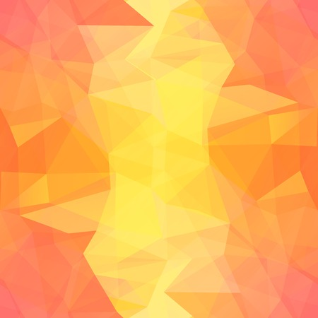 seamless orange triangle
