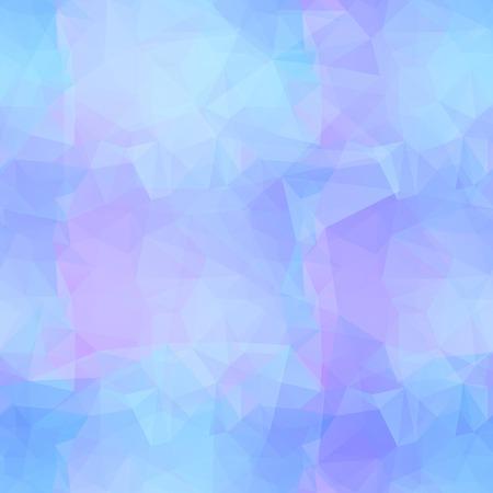 mosaic art: Blue seamless triangle pattern