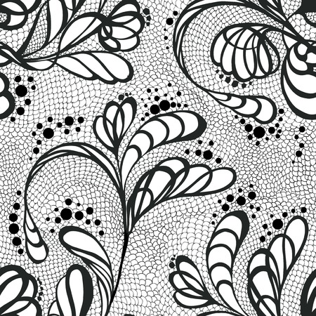 lacy seamless pattern Illustration