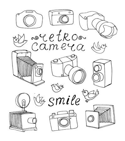 빈티지 카메라 세트