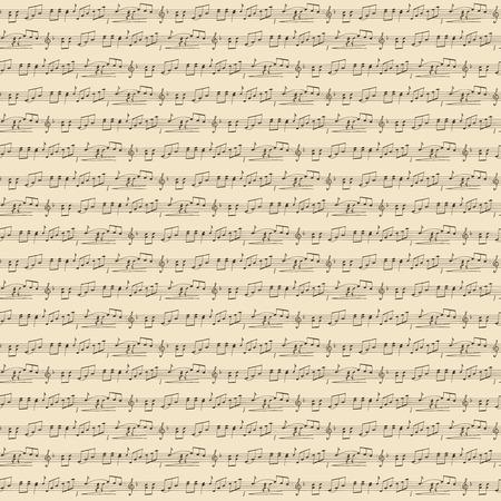Music Seamless Background Vettoriali