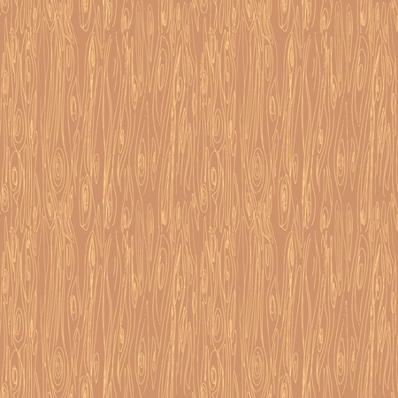 Seamless hand drawn wood texture, vector illustration Vector