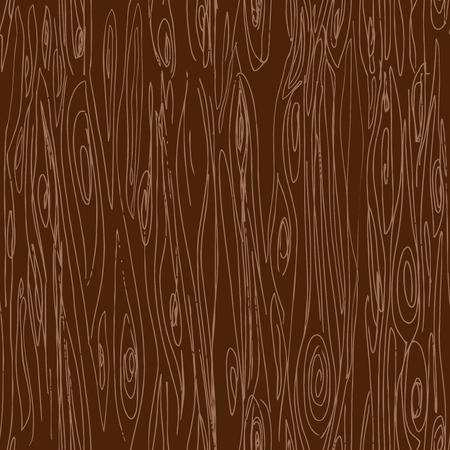 woodgrain: Seamless hand drawn wood texture, vector illustration Illustration