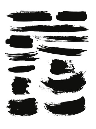 grunge shape: brush strokes