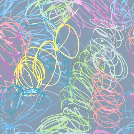 scribble: Doodle seamless pencil scribble pattern