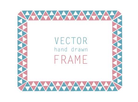 hand drawn frame: hand drawn frame