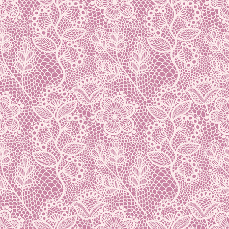 laces: seamless lace pattern Illustration