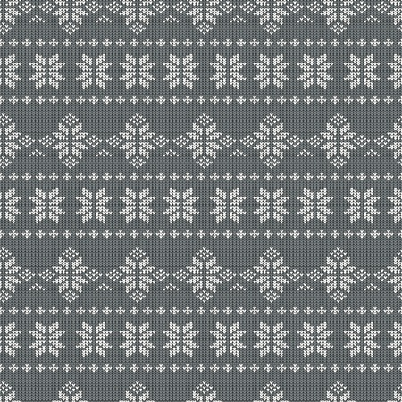 background pattern: Knitting Pattern Illustration