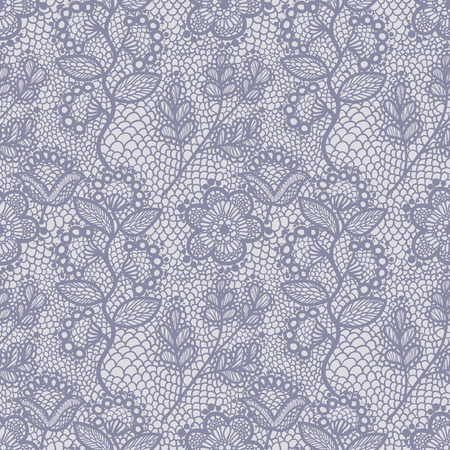 seamless lace pattern 矢量图像