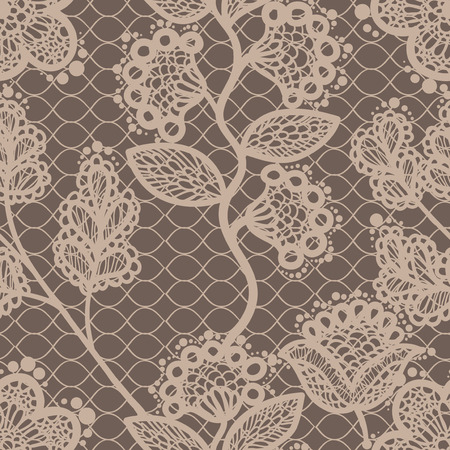 seamless lace pattern Иллюстрация