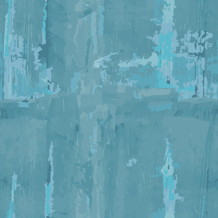 smeared: Grunge seamless background smeared with blue paint. Vector illustration. Illustration