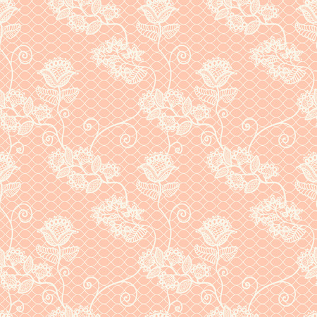 seamless beautiful floral lace pattern, vintage background
