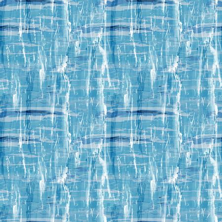 craquelure: Grunge seamless blue background. Vector illustration.