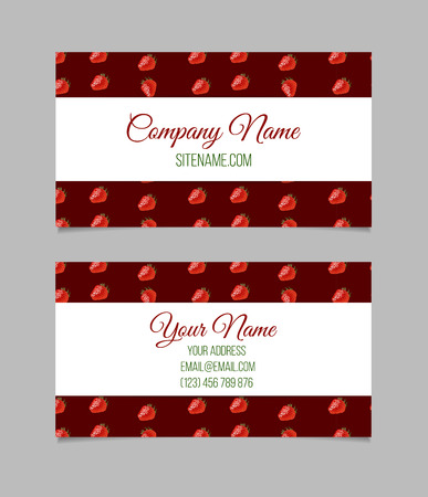 editable: Vector business card template. This file can be used for advertising, print design. Visit card, invitation, greeting card.