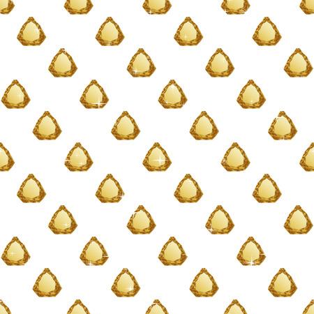 diamond background: Diamonds seamless pattern. Vector illustration jewerly. Abstract diamond vector background. Jem seamless pattern. Seamless background, brilliant jewels, yellow gold diamond