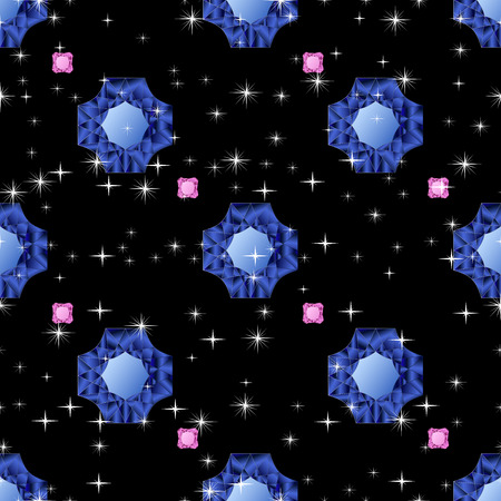 jewerly: Diamonds seamless pattern. Vector illustration jewerly. Abstract diamond vector background. Jem seamless pattern. Seamless background, brilliant jewels sapphire