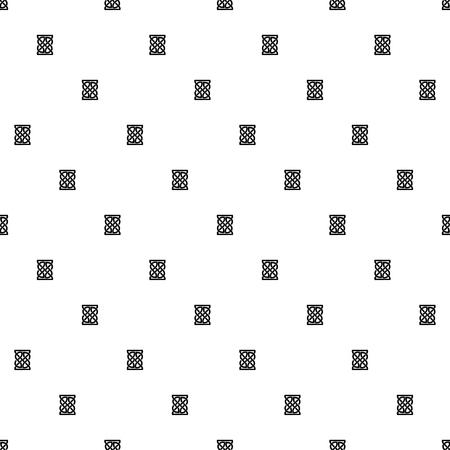 Nudo Celta Patrón En Blanco Y Negro Sin Fisuras. Papel Digital ...