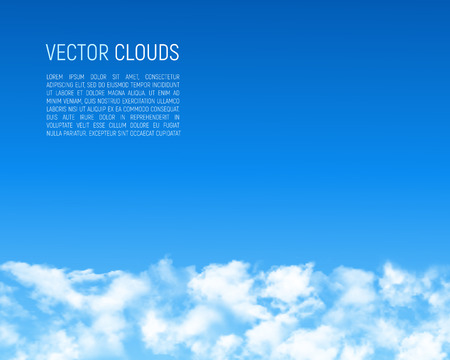 whitem: Abstract background with clouds