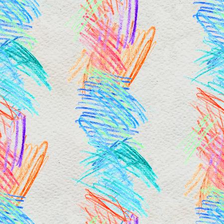 Scribble hand drawn pattern