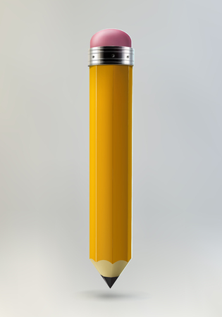 Yellow pencil icon