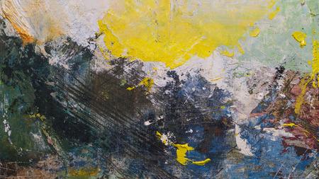Abstracte acryl met de hand geschilderde textuur als achtergrond op karton Stockfoto - 73409945
