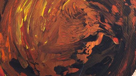 Abstracte acryl met de hand geschilderde textuur als achtergrond op karton Stockfoto - 71122869