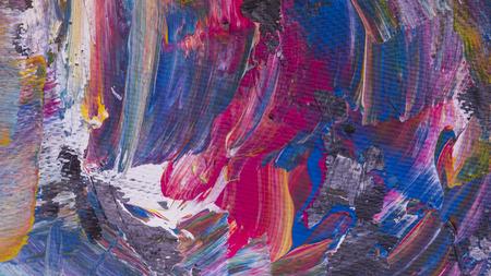 Abstracte acryl met de hand geschilderde textuur als achtergrond op karton Stockfoto - 71464691