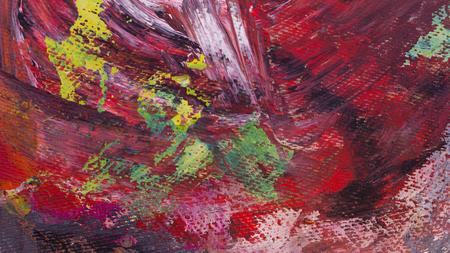 Abstracte acryl met de hand geschilderde textuur als achtergrond op karton Stockfoto - 71122872