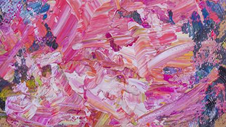 Abstracte acryl met de hand geschilderde textuur als achtergrond op karton Stockfoto - 73409946