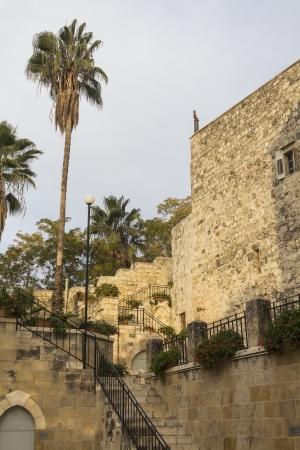 john: courtyard Church of St. John the Baptist, Jerusalem