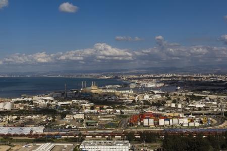 haifa: landscape sea  in Haifa