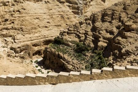 vadi: Monastery of St. George in Israel