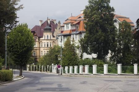 karlovy: beautiful building in Karlovy Vary
