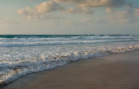 waves on the Mediterranean Sea photo