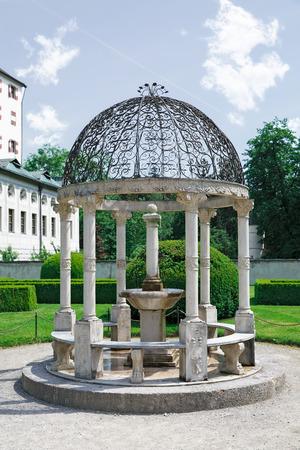 innsbruck: beautiful Ambras Palace in Innsbruck, Austria Tirol