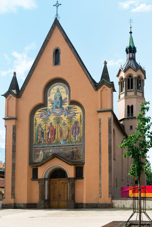 innsbruck: The church of three Sainz in Innsbruck