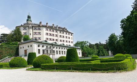 tirol: beautiful Ambras Palace in Innsbruck, Austria Tirol