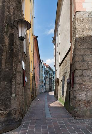 innsbruck: beautiful buildings in Innsbruck Tyrol Austria Stock Photo
