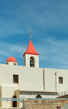 akko: Christian bell tower in Akko, Israel