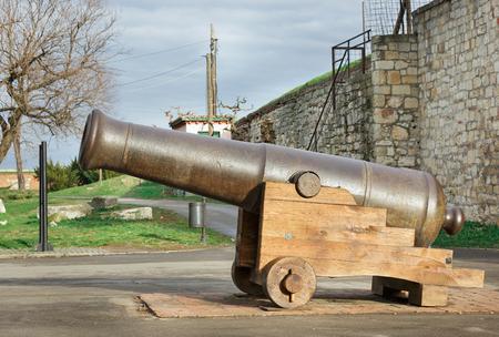 Military Museum in Kalemegdan Belgrade  Serbia  travel background Editorial