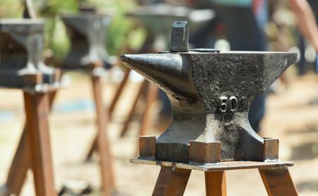 blacksmith anvil close-up