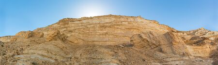 Avdat Canyon in Negev desert, Israel