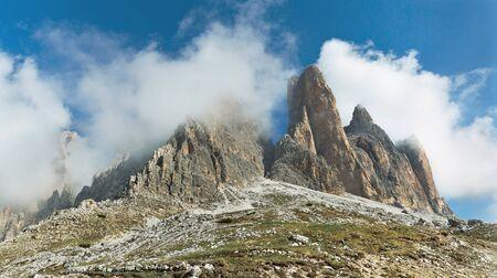 Dolomite alps Tre Cime di Lavaredo Italy