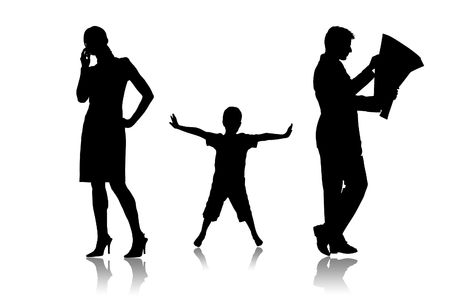disconnect: Parents which do not communicate with the child