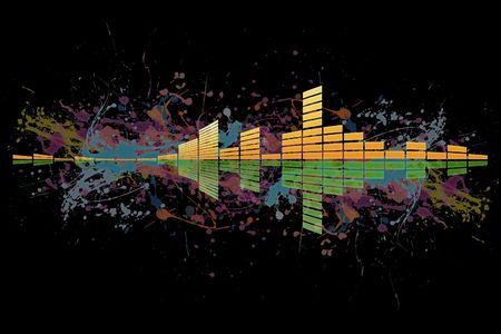 Equalizer for music with different level of loudness