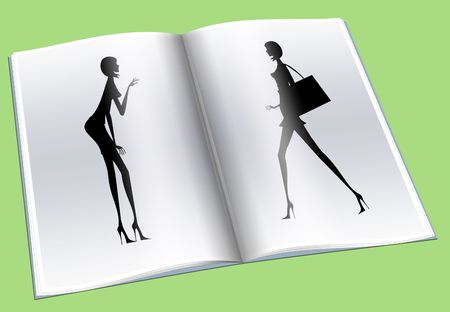 glamur: The woman going with purchases to other woman