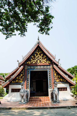chinese courtyard: Buddhist Holy Place Stock Photo