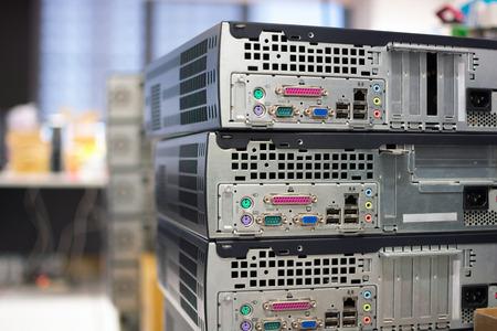 red informatica: Conector de la placa base del ordenador