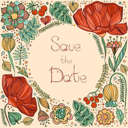 Modèle d'invitation de mariage, invitation, enveloppe, carte de remerciements, sauvez les cartes de date. Ensemble de mariage. Événement de mariage. Conception de la Saint-Valentin. Vecteurs