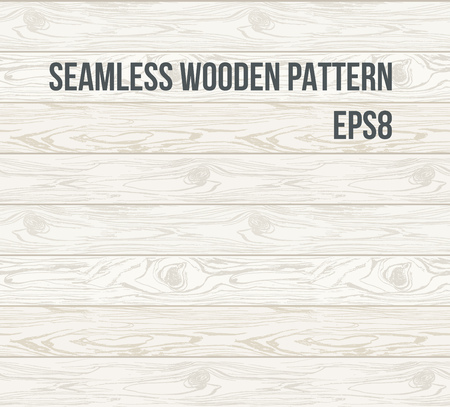 Seamless pattern wood texture, vector Eps 8 illustration.Hand drawn Natural realistic Wooden Background.
